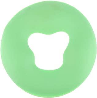 Silicone Pillow Massager Face Pillow Pad SPA Massage Cushion Beauty Salon Massage Mat - Green