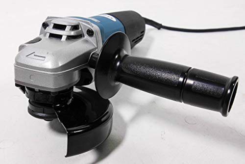Makita 9565hrz Winkelschleifer 9565hrz-125 mm-1100 Watt-im Karton-Elektro-Hochleistungsmotor, 1100 W, 230 V, Blau