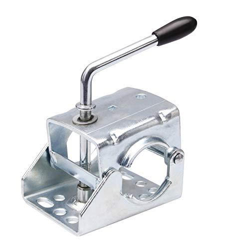 Klemmschelle Klemme für Anhänger Stützrad o. Stützen mit Rohr Ø 55-60mm Halter