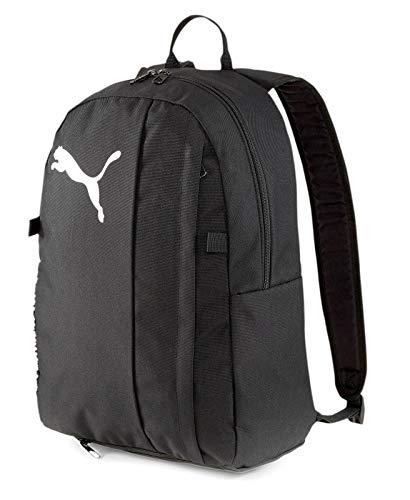 Puma teamGOAL 23 Backpack with Ball Rucksack, Black, OSFA