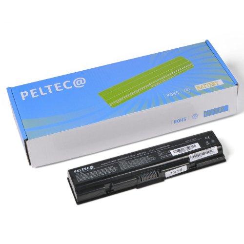 PELTEC@ Batterie de rechange pour ordinateur portable Toshiba Satellite PA3533U PA3534U PA3535U 1BAS BRS PA3533U-1BAS PA3533U-1BRS PA3534U-1BAS PA3534U-1BRS PA3535U-1BAS PA3535U-1BRS PABAS098 PABAS099 4400 mAh