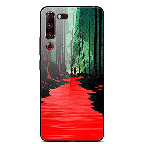 HUAYIJIE YLBL Case For Lenovo Z6 pro Phone Case Cover 17