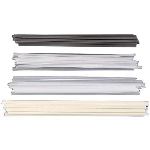 50pcs Plastikschweißstangen ABS/PP/PVC/PE Schweißenstöcke für Plastikschweißer