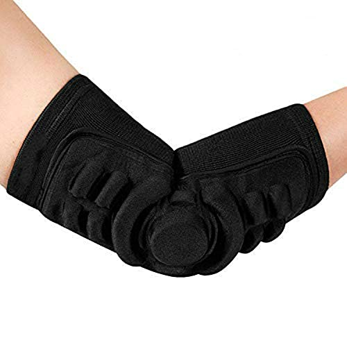 Codera deportiva para hombres y mujeres, protección de codo para articulaciones y antebrazo, protector de manga de compresión transpirable almohadillas elásticas para entrenamiento a prueba de golpes