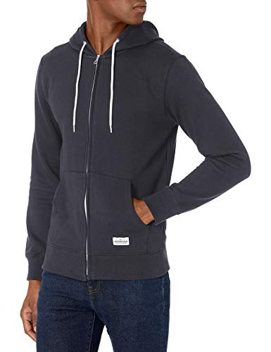 Quiksilver Men's Essentials Zip Fleece, Navy Blazer, L