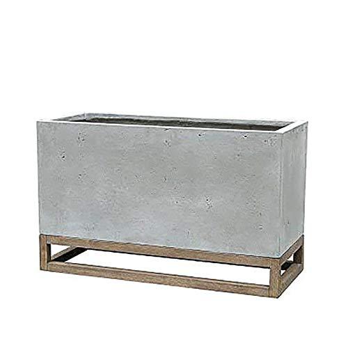 Gartentraum Jardinera esquinera de Exterior - Moderna - hormigón de Fibra de Vidrio - Giove