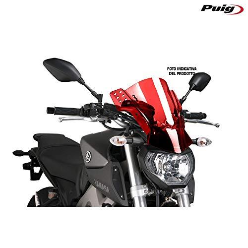 Puig 6409R Windschutzscheibe modell Rafale Kawasaki ER6n 12 Rot