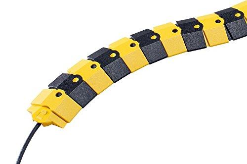 Kabelbrücke - Kabelschutz flexibel und überfahrbar (1 m)