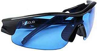 U.S. Solid Grow Room Glasses- Hydroponics Glasses Protect Your Eyes from UV Rays for Easy Plant Inspection in Your Grow Room, Two Sets of Lenses for HID and LED Lighting, a Product