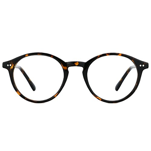 TIJN Jurgen Klopp Round Glasses Non-prescription Eyeglasses Clear Lens for Women and Men