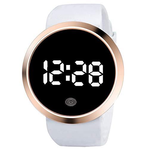 CACAZI Pantalla Táctil Deporte Reloj Moda Sencillo Led Deporte Reloj Reloj De Pulsera Para Adultos Unisex