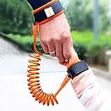 Tuzi Qoge HWJ Kids Safety Gurness Kind Leine Anti Lost Handgelenk Link Traktionsseil Anti Lost Armband, Länge: 2,5m QiuGe (Color : Orange)