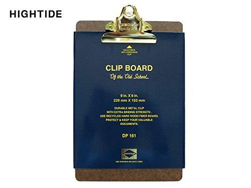 HIGHTIDE クリップボード オールドスクール(ペンコ) A5 【ゴールドクリップ】 DP161