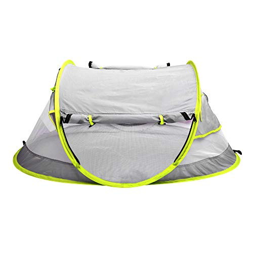 in budget affordable Epltion2020 Children's Beach Tent Outdoor Pop-up Tent UPF50 + UV Protection Sunscreen Baby Shelter…