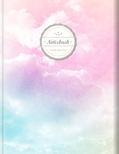 Punktraster Notizbuch (©Star, A4, 156 Seiten, Softcover) || Dickes Notizbuch mit Register + Robuster Einband || Bullet Journal, Handlettering, Skizzenbuch, Zeichenbuch, Tagebuch,