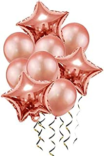 HOT-Ballons & Accessories - Blue Balloons Air Ballons Deco Birthday Star Foil Baloon Helium Birthday Party Decorations Kid...