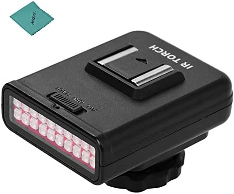 ORDRO LN 3 Studio IRLight LED Light USB Rechargeable Infrared Night Vision Infrared Illuminator product image