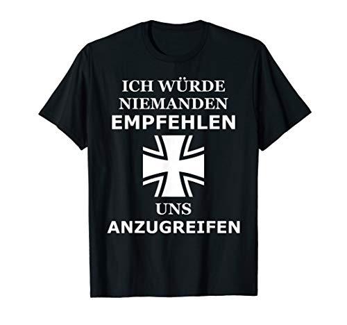 Bundeswehr Eiserne Kreuz, Generalmajor Satz zu Stuttgart T-Shirt