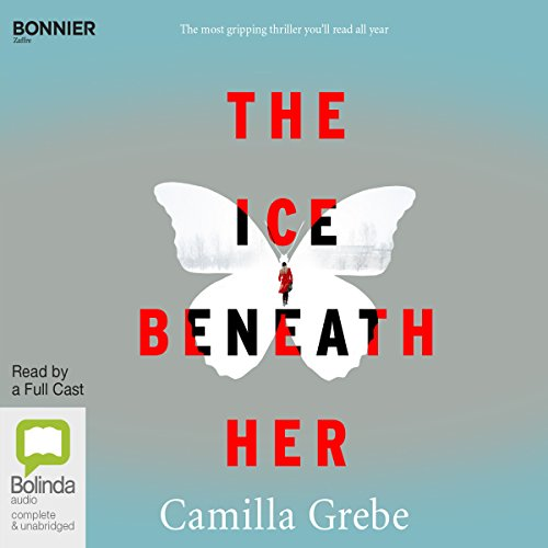 The Ice Beneath Her audiobook cover art