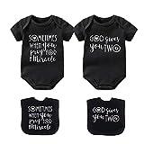 culbutomind M Wish Body divertido para bebé gemelos conjuntos de regalos dobles...