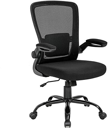 Home Office Mesh Desk Chair, Ergonomic Office Chair, Mesh Computer Chair with Lumbar Support, Ergonomic Desk Adjustible Computer Chair Chair with Lumbar Support