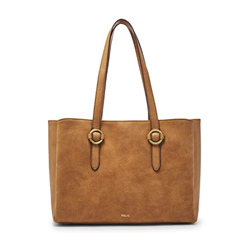 Relic by Fossil Women's Joni Double Shoulder Handbag, Color: CAMEL Model: (RLH0908235)