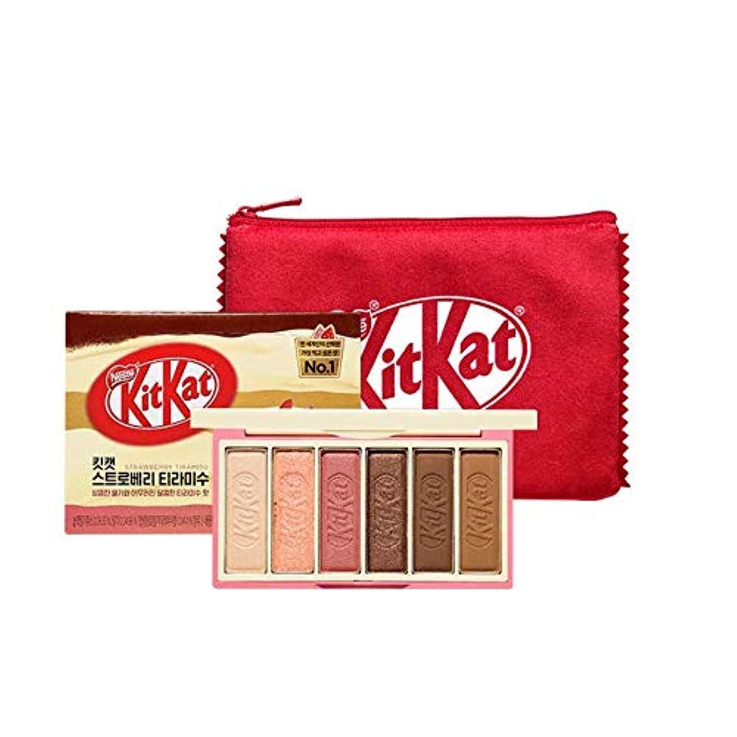 真剣にステートメントジョガーエチュードハウス キットカット プレイカラー アイズ ミニ キット 1*6g / ETUDE HOUSE KitKat Play Color Eyes Mini Kit #2 KitKat Strawberry Tiramisu [並行輸入品]
