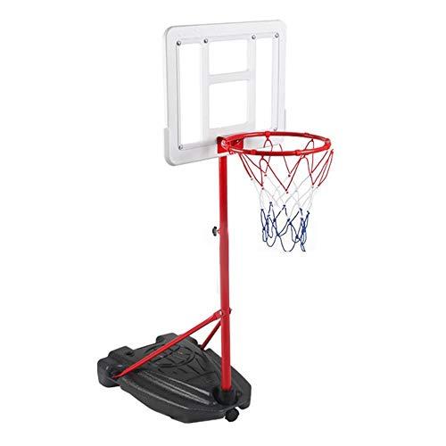 SUON Canasta De Baloncesto Altura Ajustable 120-240cm Niños Canasta Aro De Baloncesto Adulto Movimiento Al Aire Libre