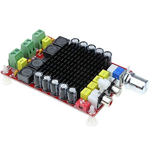 Nrpfell Inteligente Electrónica Tda7498 DC 14-34V Tablero Amplificador De Clase D 2X100W Tablero Amplificador De Audio Estéreo De Doble Canal Xh-M510