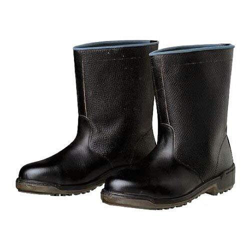 [ドンケル] 安全靴 半長靴 ウレタン二層底 耐滑 衝撃吸収 JIS T8101革製S種E・F合格(D式) D5006 メンズ ブラック 27.5