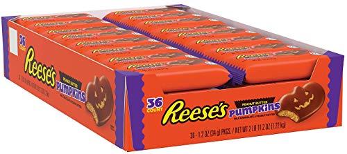 REESE'S Peanut Butter Pumpkin - Erdnussbutter Kürbis, 36 Stück (36 x 34 g)