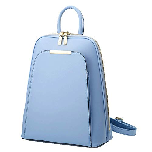HWYP - Bolso mochila  de Material exterior: para mujer Azul azul Taille unique