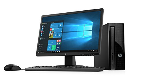 2018 HP 270 21.5-Inch Full HD Display Slim Desktop PC, Intel Pentium G4560T Dual-Core Processor 4GB DDR4 RAM 1TB HDD...
