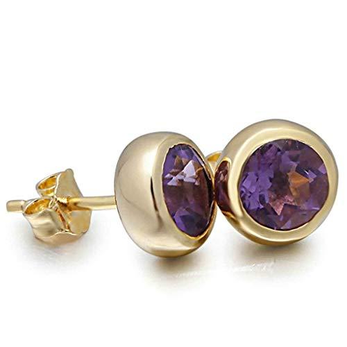 Women Earrings Silver Plated Round Shape Ear Studs Women's Earrings Novelty Jewelry Eardrop/Gold Blue Bracelets Earrings Rings Necklaces
