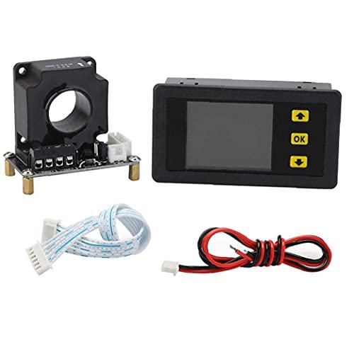 WYZQ Amperímetro de CC Multímetro Digital 100A VAC9010H Voltímetro Probador de Capacidad de Carga y Descarga de batería con Sensor Hall, probadores múltiples