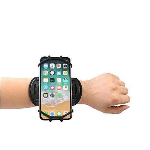 Running Armband 360 ° Draaibare Mobiele Telefoonhouder Universele Sport Armband Polsband Geschikt voor 4-7 Inch Mobiele Telefoons? IPhone 6, 7, 8 Plus, X Xs Max Xr Samsung S9 + S10 + Plus, pols stijl, Pink