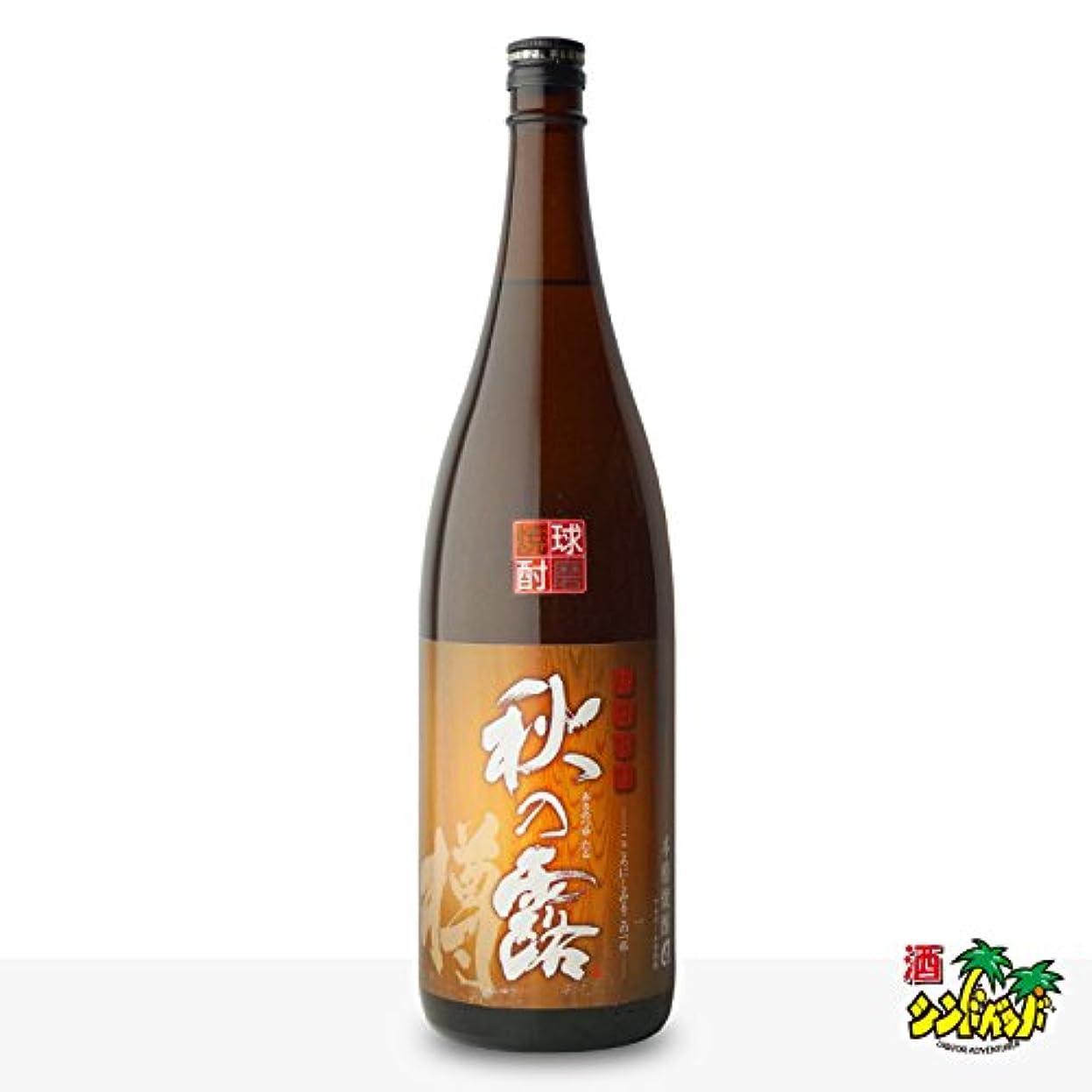 市町村平日逆さまに常楽酒造 秋の露 樽 米 [ 焼酎 25度 熊本県 1800ml ]