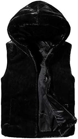 LYLY Vest Women Vest Jacket Mens Autumn Warm Sleeveless Jacket Male Winter Casual Waistcoat Men Vest Plus Size Vest Coats Vest Warm (Color : Black, Size : XXXL)