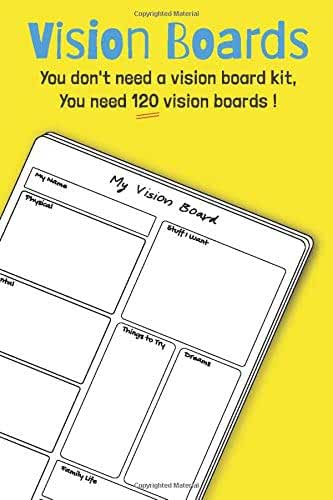 Vision Boards: You don't need a vision board kit, You need 120 vision boards