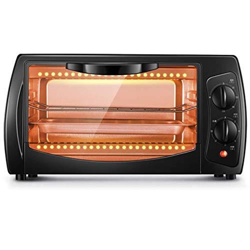 XYSQWZ Mini Horno Doméstico 10l Horno De Cocción con Múltiples Funciones De Cocción Temporizador De Control De Temperatura Ajustable para Parrilla - 800w