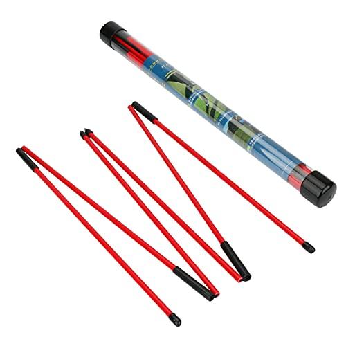 Palo de alineación de golf, zootop Palos de entrenamiento de golf plegables de 48 pulgadas y 3 secciones con paquete de 2,...
