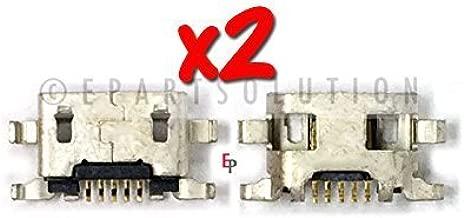 ePartSolution-2 X Motorola Moto G 2nd Gen XT1063 XT1064 XT1068 USB Charger Charging Port Dock Connector USB Port Repair Part USA Seller
