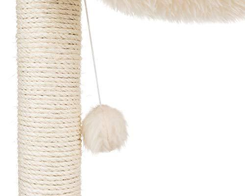 Trixie Baza Kratzbaum – 50 cm hoch in creme - 4