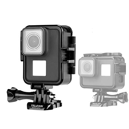 Absir Vertical Protection Frame Case for GoPro Hero 7 6 5 Sports Camera Portable Plastic Frame Shell