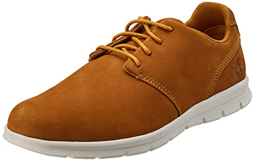 Timberland Woodhull Leather Oxford Basic, Plano Hombre, Marrón, 43.5 EU