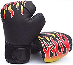 YUANYOULI Guantes de Boxeo MMA Karate Kick Boxing Equipment Flame Taekwondo Wing Chun Boxing Aikido Boxing Body Fight Protección Personal