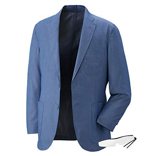 デニムジャケットGV-033 しおり型ルーペ付 (LL, ブルー)