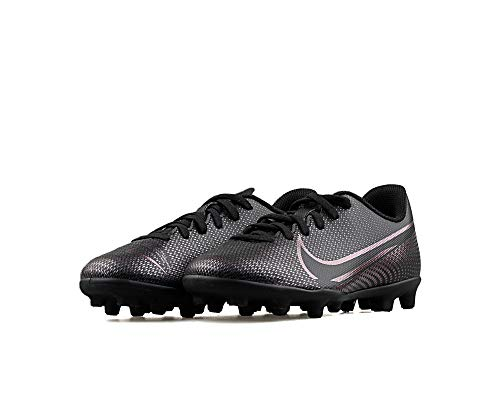 Nike Mercurial Vapor 13 Club MG - Zapatillas de fútbol para niño, Negro, 35