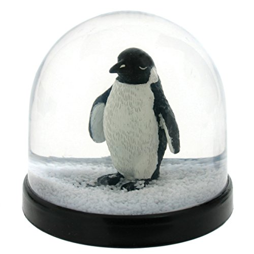 &Klevering Witzige Schüttelkugel Schneekugel hochwertig mit Pinguin 8 x Ø 8.5 cm