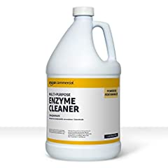 1 gallon bottle of multi-purpose enzyme cleaning solution for a wide variety of surfaces and environments Breaks up complex organic proteins, pet smells and stains, hair, grease, oils, and more for effective results Ideal for commercial properties, r...